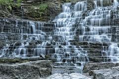 Albion Falls VIII (martinaschneider) Tags: trees summer ontario tree water waterfall rocks hamilton waterfalls albionfalls