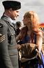New Zealander RAF crew and girlfriend (Beth Hartle Photographs2013) Tags: duxford reenactment raf scramble dispersal homeguard wraf middlewallop 609sqndispersal 1940battleofbritainairshow airtrafficcontrolcaravan wrafdriver 1937vauxhallcar