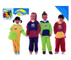 Butterick 6228 Teletubbies Collectible Sewing Pattern (FindCraftyPatterns) Tags: uncut pull hoodie tv long pattern sewing size suit bbc po collectible jogging sleeve teletubbies boygirl 456 dipsy franchise laalaa tinkywinky butterick 6228 panttrouser