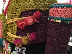 2015-10-06 21.09.14 (The Crochet Crowd) Tags: party crochet mikey exhibit yarn nutcracker artistry freeform caron simplysoft creativfestival yarnbomb crochetcrowd crochetnutcracker crochetstatue