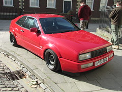 Volkswagen Corrado G60 H953DBD (Andrew 2.8i) Tags: bristol breakfast meet queen queens square avenue drivers club volkswagen vw vee dub g60 hot hatch classic coupe car sports sportscar supercharged all types transport worldcars uk unitedkingdom