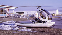 Hughes 269B (300) was N700 (ChrisK48) Tags: aircraft helicopter 300 gai gaithersburgmd 269 usdepartmentoftheinterior january1967 montgomerycountyairpark kgai hughes269b cn0209 bureauofsportfisheries destroyedinafatalcrashinmninmay1967 wasn700