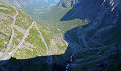Trollstigen (hippohog68) Tags: road mountains norway landscape norge view scenic roadtrip scandinavia hairpin steep trollstigen hairpinbends
