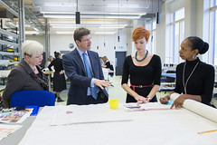 New ROH Costume Centre opened by Rt Hon Greg Clark MP