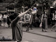 the glass sphere whisperer (bart.kwasnicki) Tags: