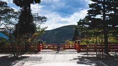 Contemplation (RapidCancel) Tags: mountain girl japan temple kyoto fuji f14 fujifilm kansai region kurama xf 23mm kuramadera xt1