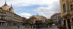 Plaza mayor (ramosblancor) Tags: travel panorama history architecture arquitectura cities ciudades segovia plazamayor historia viajar