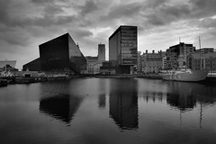 Looking Across Canning Dock, Liverpool. (mikey471) Tags: november water liverpool merseyside 2015 canningdock