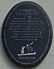 [37176] London Palladium (Budby) Tags: london heritage history plaque theatre information theatreland cityofwestminster