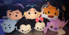 Tsum Tsum (AngelShizuka) Tags: mouse store stitch jasmine disney mickey merchandise minnie merch aladdin lilo rajah genie tsum