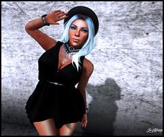This Strange Girl (Mishy B.) Tags: black strange avatar style demon ikon uber nomore ncore maitreya slink blasphemic seoncdlife aii unbra littlebones meshbody alaskametro3 hebenonvial baiimaii