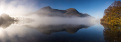 Buttermere mist reflection (alf.branch) Tags: autumn reflection water landscape lakes lakedistrict olympus cumbria zuiko buttermere refelections calmwater westcumbria cumbrialakedistrict olympusomdem1 zuiko1240mmf28pro