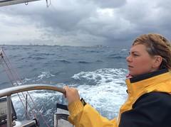 Sailing in Puglia, Italy (Cristiane F.B.) Tags: sail sailing puglia itália italiana italy italie mar mare sea oceano ocean waves ondas vagues onde inspired by love inspiredbylove gente aoarlivre brilliantcapture