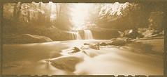 Deckers Creek (Digital Lith) (DRCPhoto) Tags: zeroimage612b pinhole digital lith ruedigger stobbe zonevde deckers creek west virginia