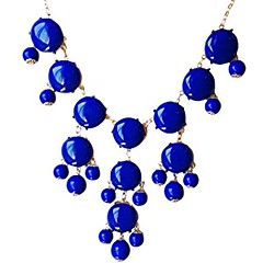 Bubble Necklace,Statement Necklace, Bubble Jewelry(Fn0508-Blue) (goodies2get2) Tags: amazoncom bestsellers under25
