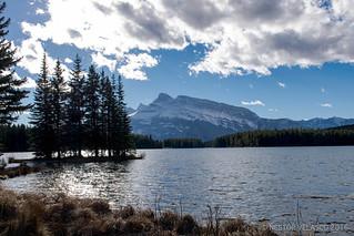 Two Jack Lake, Alberta. Canada.
