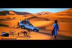 Merzouga (www.marrakechviajes.com) Tags: merzouga marruecos viajes rutas todoterreno marrakech aventuras travels tours morocco 5days 3daysmarrakech from fes casablanca chefchaouen tanger agadir desert comeltrekking