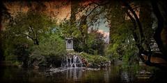 (426/16) Estanque del Parque del Capricho (Pablo Arias) Tags: pabloarias photoshop nxd cielo nubes españa arquitectura estanque agua parque parquedelcapricho madrid comunidaddemadrid