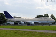 HZ-AIV | Saudi Arabian Airlines | Boeing 747-468 | EGBP | 20160701 (carlowspotter) Tags: boeing 747400 b747 b744747400 saudi arabian airlines sva jumbo jet queen aircraft aeroplane airplane plane turbofan flying machine b744 744 avgeek aerosexual spotter planespotting egbp kemble cotswold airport airfield aerodrome civil aviation passenger storage scrap dismantle uk england english britain hzaiv