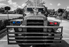 Police (Christian Reteaca) Tags: usa worldtrip beach police car