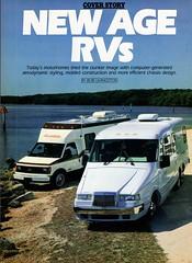 1987 allegro motorhome chevrolet astro van eldorado starfire magazine article