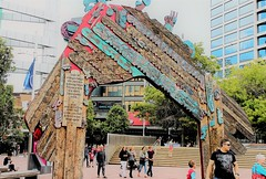1.   NEW ZEALAND (PINOY PHOTOGRAPHER) Tags: auckland newzealand world amazing popular fabulous interesting canon camera light photography picture color waharoa maori gateway aotea square whaharoa photo beauty