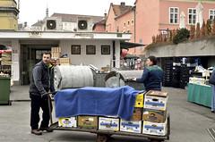Clearing up (roksoslav) Tags: zagreb croatia 2016 dolac market tržnica plac nikon d7000 nikkor28mmf35