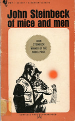Novel-Of-Mice-and-Men-by-John-Steinbeck (Count_Strad) Tags: novel book pages read reading pulp