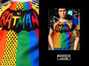 BATMAN-BRITTO (marcelojacob) Tags: marcelo jacob best t shirt for dolls action figure soldier frhomme fr homme male doll color infusion colorinfusion ci olie tobias riese ken trendy fashion apparel spain brazilian designer tshirt britto romero pop art