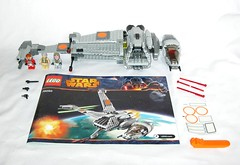 75050 1 lego star wars b-wing set 2014 01 (tjparkside) Tags: 75050 1 lego star wars bwing set 2014 general airen cracken with gray squadron pilot horton salm ywing rebel ten nunb minifigure sw episode vi six 6 rotj return jedi returnofthejedi ep grey numb rebellion darth vader packaging box sets b wing fighter cockpit folding wings blaster blasters weapon weapons pistol pistols firing missile missiles death battle endor y