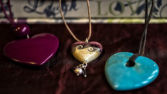 my love gives me heart shaped things (HHH Honey) Tags: 117picturesin2017 8inorfromthejewellerybox 8 sonya7rii minolta50mm hears jewellery macro