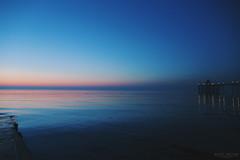 Clevedon Pier sunset (scottsalter.2) Tags: sunset sky clevedon pier clevedonpier somerset bristol channel sea reflections greatbritain britain