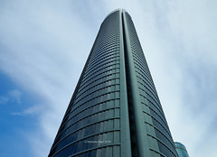 Torre PwC (Modesto Vega) Tags: architect architecture arquitecto arquitectura cbta cuatrotorresbusinessarea césarpelli d600 fullframe green madrid nikon nikond600 peicobbfreed rascacielos skyscraper spacetower torreespacio torrepwc torresacyrvallehermoso