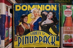 Dominion Pinup Pack beer (RPStrick) Tags: pinups girls pinup beer dominion 12 pack