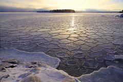 Freezing Baltic Sea (Henri Koskinen) Tags: seascape landscape maisema merimaisema jää kallvik finland helsinki 05012016
