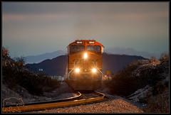 (K-Szok-Photography) Tags: mojavedesert desert deserttrains bnsf locomotives ge trains transportation transprotation movingtrains sbcusa socal california canon canondslr canon50d 50d kenszok kszokphotography