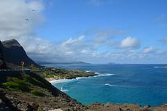 Makapuu Lookout on Oahu (trailwalker52) Tags: oahu hawaii ocean beach cliff sand paradise lookout makapuu makapuulookout