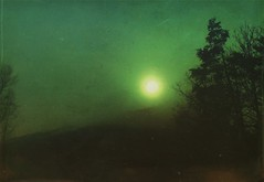 Smog (BLACK EYED SUZY) Tags: green smog eerie darkart lenslight afterlight mextures ominous