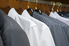 Dry Cleaning (Pennywise Cleaners) Tags: apparel attire blazer boutique business buy buying casual closet clothes clothing costume different dress fashion fashionable few garb garment garments hang hanger hangers hanging jacket man outfit rack row sale several shirt shop shopping store style stylish suit top tops upscale wardrobe
