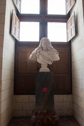 Buste de Louis XIV au Château de Chambord