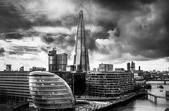 The Shard, London (King Grecko) Tags: 2470f28 5dmk3 5dmkiii architecture bw blue bridge buildingexterior builtstructure city cloud cloudsky england historic iconic landscape london londonengland lowangleview nopeople outdoors photography sky theshard tourism travel traveldestinations uk urbanscene black blackandwhite britishisles building canon canoneos5dmk3 cityscape clouds connection contrast engineering eos europe gla greatbritain history innerlondon light lightroom londonassembly nobody photoshop riverthames southwark thames tower water westerneurope white