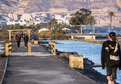 Las Salinas, paseando (Adisla) Tags: olympus em1 mzuiko 40150mm f28 humano paisaje