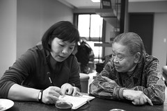 Learning how to speak Taiwanese (Alfred Life) Tags: taiwan qingpu 青埔 台灣 家 太子馥 leica mmonochrom 徠卡 leicammonochrom mm monochrom blackandwhite bw 黑白照片 summilux asph m 35mm f14 6bit m3514 m35mmf14 曾祖母 初五