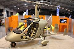 G-YROG - 2015 build Magni M-24C Orion, displayed at Telford during Flyer Live 2015 (egcc) Tags: 24159384 autogyro flyerlive flyerlive2015 gyrog gyro gyrocopter gyroplane lightroom m24 m24c magni mann orion telford theinternationalcentre