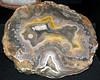 Agate (Borden Formation, Lower Mississippian; eastern Kentucky, USA) 15 (James St. John) Tags: agate nodule nodules geode geodes quartz chalcedony borden formation kentucky mississippian