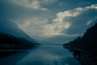 Misty Loch Treig