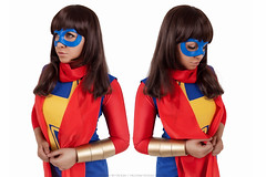 __IMG_0068 (DashaOcean) Tags: yellow red marvel cosplay kamala khan ms miss wolverine