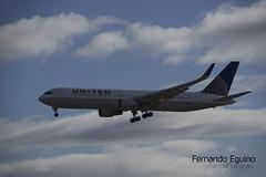 United Madrid Barajas (Fernando Eguino) Tags: madrid barajas avión t4 iberia spotter plane