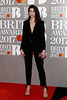 Dua Lipa attends The BRIT Awards 2017 at The O2 Arena on February 22, 2017 in London, England. (Photo by John Phillips/Getty Images)