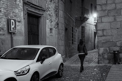 Caceres  260217-2868 (Eduardo Estéllez) Tags: women young walk walking black night earlymorning street alley dramatic spain caceres extremadura architecture europe historic medieval heritage unesco old travel stone world town historical monument style outdoor view building antique city culture ancient history religion tourist palace morning fog square estellez eduardoestellez